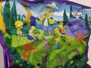 The Simpsons Outdoors Kid Sized Fold Up Family Camp Pic Chair Collectible Rare