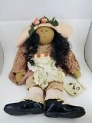 Little Souls Doll 24 Sign Gretchen Wilson Isabella 97and039 Tag 158/500 Rare Ethnic