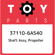 37110-6a540 Toyota Shaft Assy Propeller 371106a540 New Genuine Oem Part