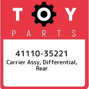 41110-35221 Toyota Carrier Assy Differential Rear 4111035221 New Genuine Oem