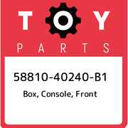 58810-40240-b1 Toyota Box Console Front 5881040240b1 New Genuine Oem Part