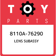 8110a-76290 Toyota Lens Subassy 8110a76290 New Genuine Oem Part