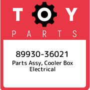 89930-36021 Toyota Parts Assy, Cooler Box Electrical 8993036021, New Genuine Oem