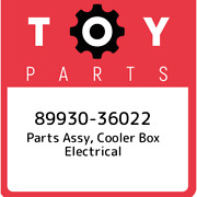 89930-36022 Toyota Parts Assy, Cooler Box Electrical 8993036022, New Genuine Oem
