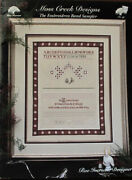 Moss Creek Designs The Embroideress Band Sampler Counted Thread Chart/pattern