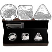 Korea-south 2014 Cultural Heritage Commemorative Silver Proof 3 Coins Set With
