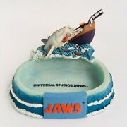 Jaws And Orca Figure Tray Universal Studios Japan Great White Shark