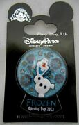 Disney Parks Pin Trading Frozen Olaf Opening Day 2013 Snowglobe Pin Le 2500 New