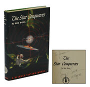 The Star Conquerors Signed By Ben Bova First Edition 1st Printing 1959