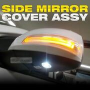 Led Side Mirror Cover Under Light Signal Repeater Lamp For Kia 2006-14 Sedona