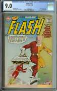 Flash 116 Cgc 9.0 Cr/ow Pages // Kid Flash Backup Story