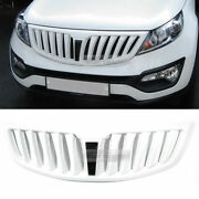 Front Hood Radiator Grille Cover Painted For Kia 2011 - 2016 Sportage R