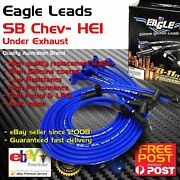 Eagle 9mm Ignition Spark Plug Leads Wires Sb Chev 283-400 Hei Under Exhaust