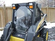 1/2 New Holland Lexan Polycarbonate Ls Lx 160 To190 Door Cabw/ Sides.skid Steer