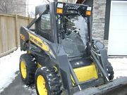 1/2 New Holland Lexan Ls160 To Ls190 Skid Steer Door And Sides. Cab Loader
