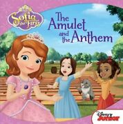 Disney Carry-along Story Books Sofia The First The Amulet And The Anthem
