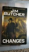 Dresden Files Changes By Jim Butcher 2010, Hardcover Dust Jacket 1st Printing