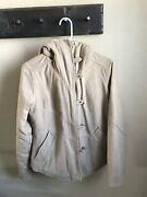 Felted Wool Reversible Jacket Womens S Insulated Camel Rare
