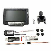 Kyosho Multi-purpose Fpv Onboard Monitor W/lipo And Usb Charger - 82724bc-b