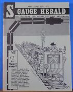 S Gauge Herald 1975 May June Trolley Fare Construct Spring Loaded Track Switches