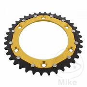 Zf Rear Sprocket 38t 520p Dual Gold Ktm Sc 620 Lc4 Super Competition 1995