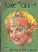 Movie Monthly October 1925- Ena Gregory- Tom Mix