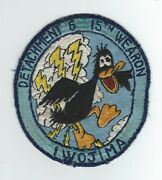 50and039s Det 6 15th Weather Squadron Iwo Jima Patch