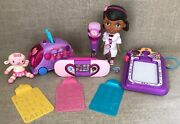 Lot Of Disney Doc Mcstuffins Talk N Trace Doll Playset