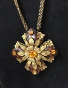 Miriam Haskell Signed Necklace