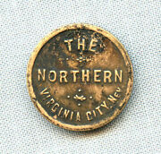 The Northern Virginia City Nv Trade Token Good For 12 1/2 Cents In Trade