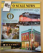 O Scale News 159 2000 Dec 48ft Journal For 1/4 In Scale Modelers Wood Tank Cars