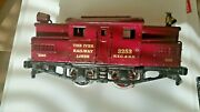 Ives O Gauge Loco Engine Not Included 3253 Gold Metallic Water Decals Look
