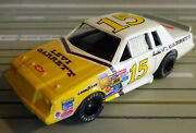 For H0 Slotcar Racing Model Railway Nascar No 15 With Tyco Chassis