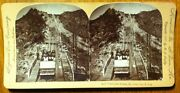 4315 - Great Cable Incline, Mt. Lowe, Cal., U.s.a., Stereoview, Keystone, 1897