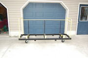 Upperzone Folding Table Cart Truck Holds 30 X 96 Tables Cadillac Of Table Cart