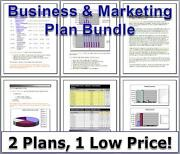 How To Start - Mobile Food Truck Lunch Vendor - Business And Marketing Plan Bundle