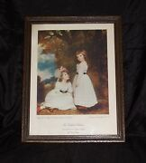 George Romney Beckford Sisters Margaret And Susan Euphemia Beckford Picture