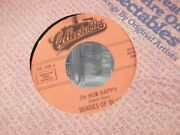 45h Shades Of Blue Little Orphan Boy / Oh How Happy On Collectible Records