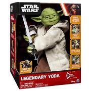 New Star Wars Interactive 16 Yoda 115 Phrases Action Lightsaber Collectible