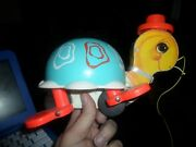 Fisher-price 773 Pull Toy Turtle Vintage Works