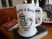 Rare Beer Can Collectors Of America 1979 Chapter Schultz And Dooley Mug Rare