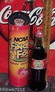 2003 Ncaa Final Four Basketball New Orleans April 8oz Coca Cola Bottle And Tube