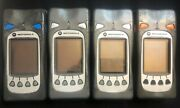 Lot Of 4 Motorola F4415a 5487449v01 Bluetooth Handheld Scanners As Is