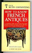 How To Know French Antiques Rare Us Signet Books Collectibles Pulp Vintage Pb