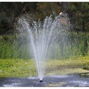 Custom Pro Ft 14000 Floating Pond Fountain And Aerator Kit-100 150 Or 200and039 Cord