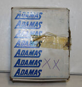10pc.adamas Carbide Tipped Tools Bit For Finishing Steel B-10 434 New Old Stock