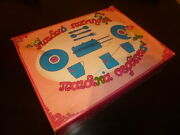 Amazing Vintage Greek Girls Dinnerware And Grill Tin Play Set Box From 60s Mib