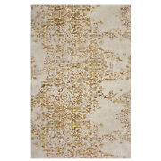 10and039 X 13and039 Karastan Machine Woven Area Rug Nirvana Brushed Gold By Virginia