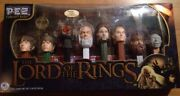 The Lord Of The Rings Pez Dispenser Collector Set,sealed Walmart Exclusiveb142