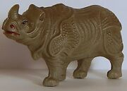 Rhino Celluloid Blow-molded Toy Viscoloid Co. Wow